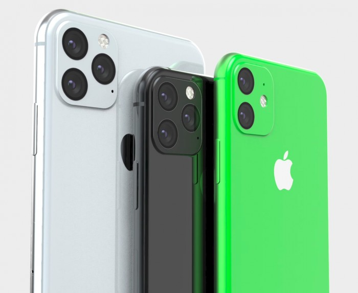 Render iPhone XR2 (paling kanan). Foto: EverythingApplePro