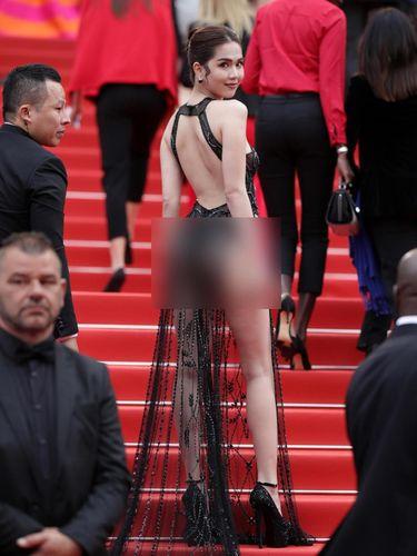 Model yang Tampil Nyaris Bugil di Cannes Akan Didenda Pemerintah Vietnam