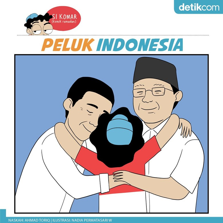 Si Komar: Peluk Indonesia #LebihBaikBersama