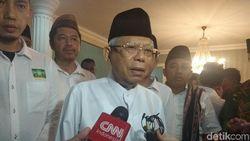 Maruf Amin Bersyukur Media Sosial Dibatasi untuk Hindari Provokasi