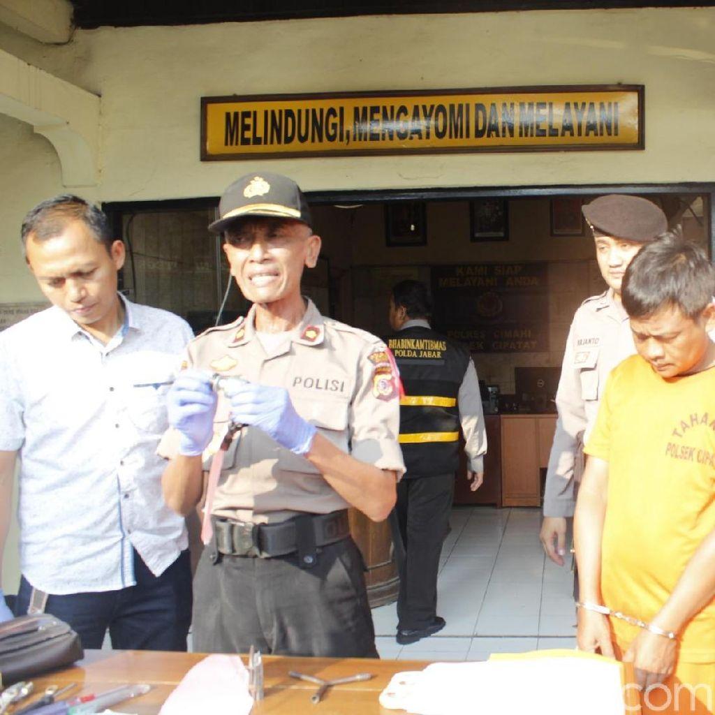 Polisi Bekuk Kakak Adik Pencuri Spesialis Mobil Pikap di KBB