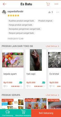Ya Ampun! Online Shop Ini Jual Es Batu Harga Rp 500