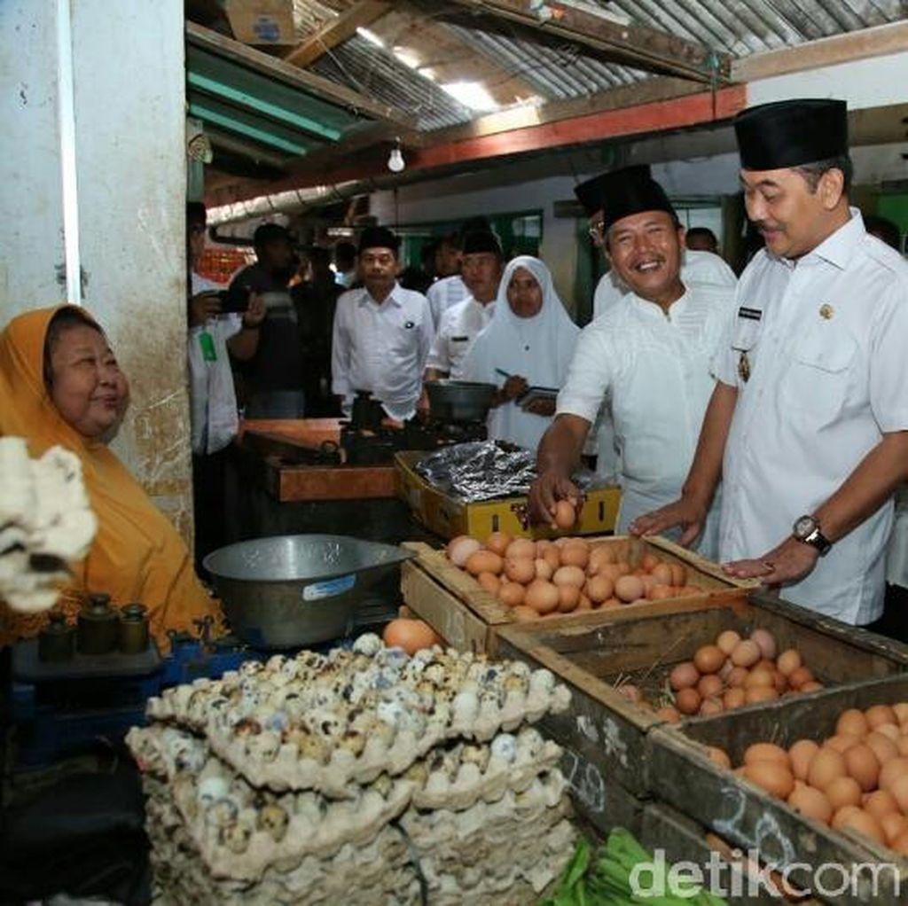 Wabup Banyuwangi Blusukan ke Pasar: Harga Kebutuhan Pokok Stabil