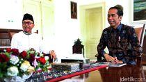 Sambangi Istana Bogor, Zulkifli Hasan Temui Jokowi