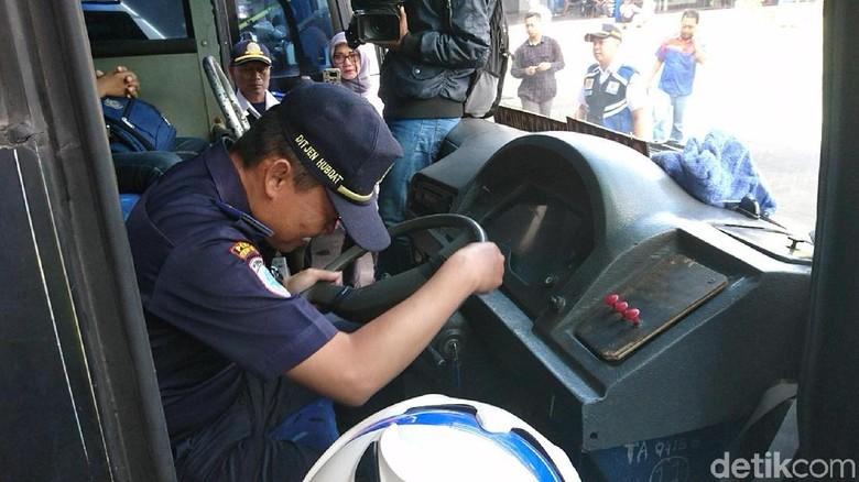 Angkutan Lebaran di Tulungagung Dicek Kelengkapan dan Kelaikan Armada
