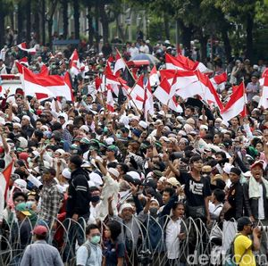 Imbas Aksi 22 Mei, Perusahaan Asing di Thamrin Libur sampai Jumat