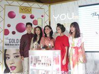 Y.O.U Rilis Makeup Elegan dari Seri 'The Gold One'