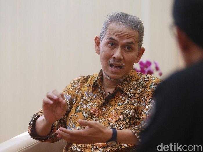 Foto: Kepala BPKH Anggito Abimanyu (Ari Saputra/detikcom)