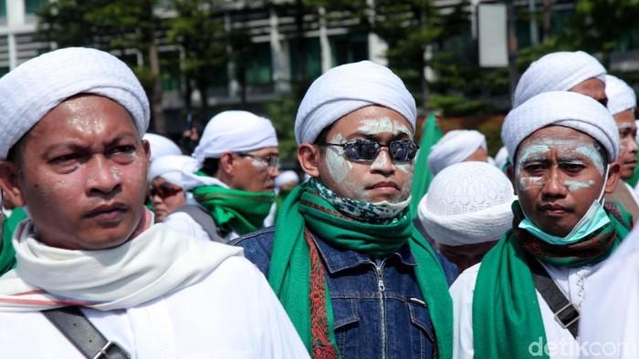 Massa demonstrasi 22 Mei. (Foto: Lamhot Aritonang)