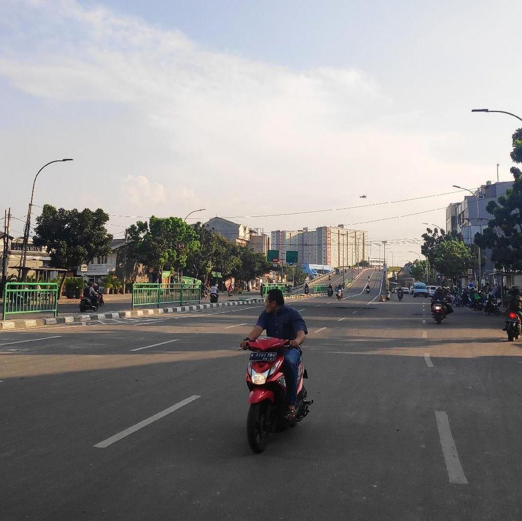 Lalu Lintas di Jalan Jatibaru Kembali Normal Pascarusuh Massa