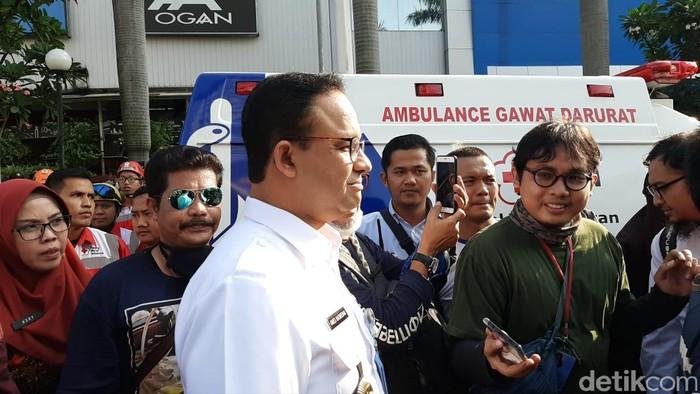 Gubernur DKI Anies Baswedan (Lisye Sri Rahayu/detikcom)