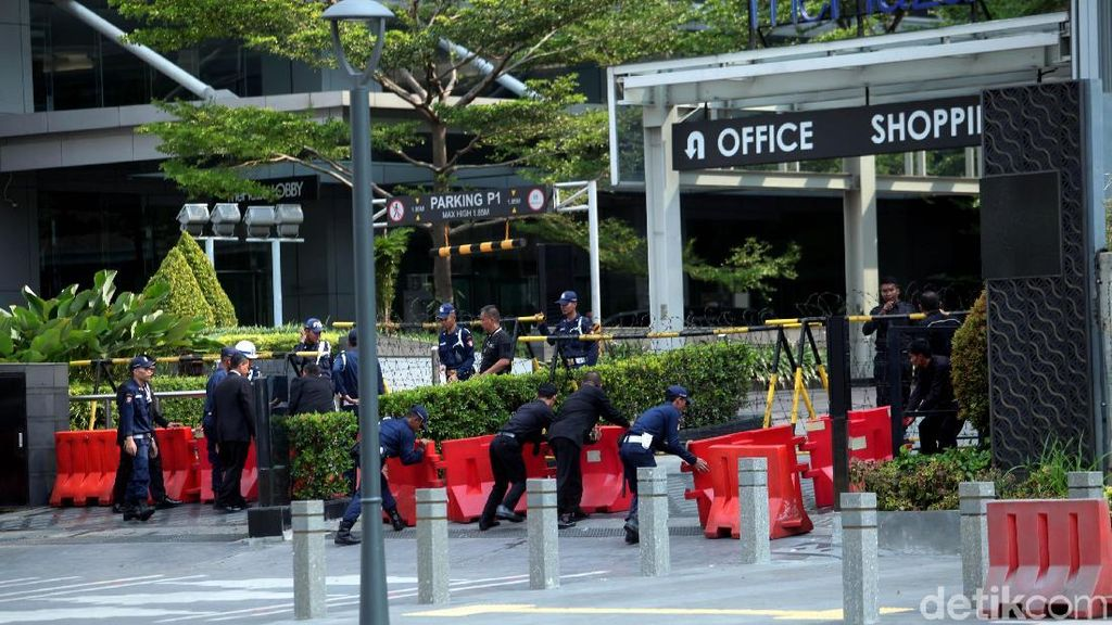 Imbas Aksi 22 Mei, Pusat Bisnis di Ibu Kota Tutup