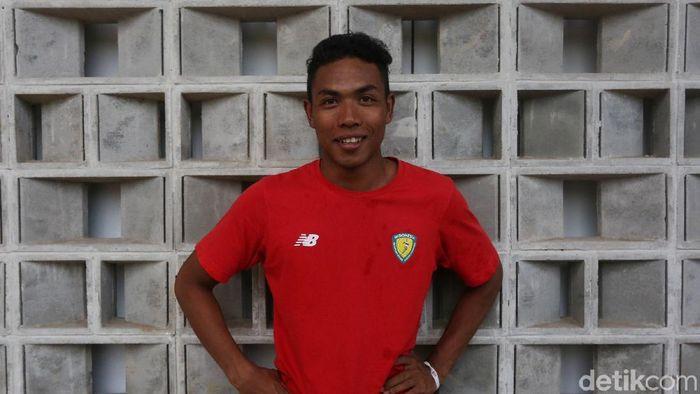 Lalu Muha(Agung Pambudhy/detikSport)