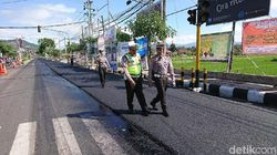 Perbaikan Jalur Mudik Lebaran di Trenggalek Dikebut