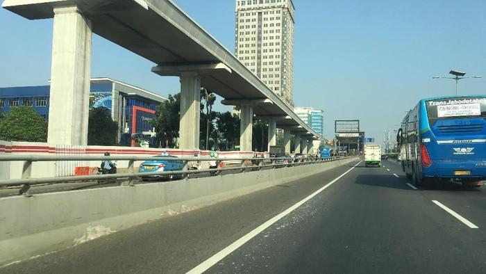 Iludtrasi Tol Dalam Kota (Foto: Mei Amelia/detikcom)