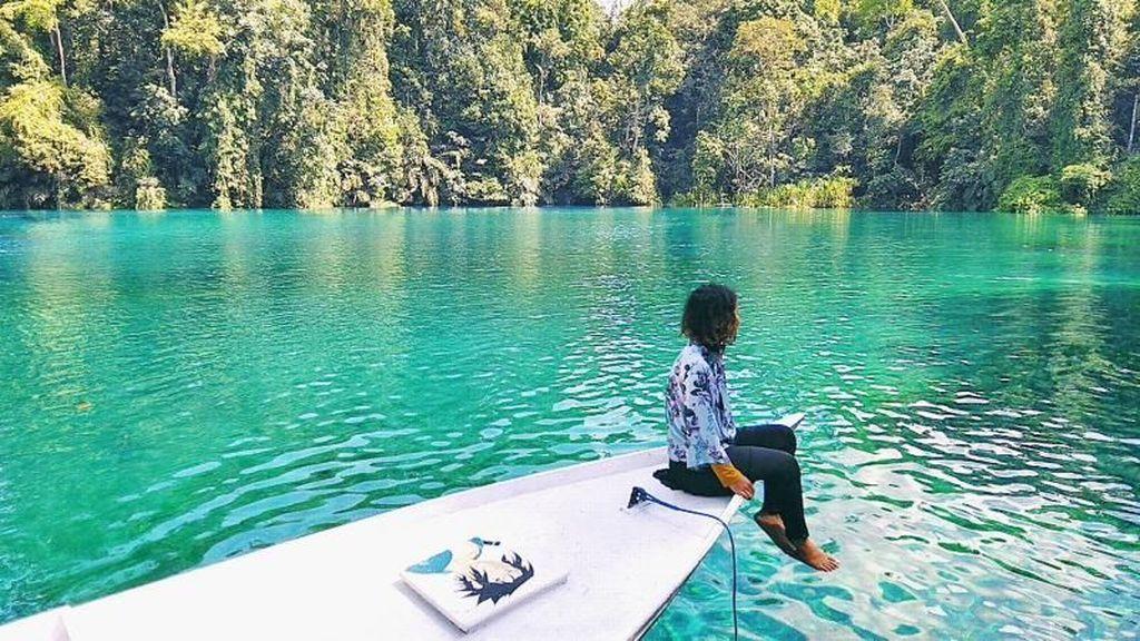Kalimantan Itu Indah, Danau Labuan Cermin Buktinya