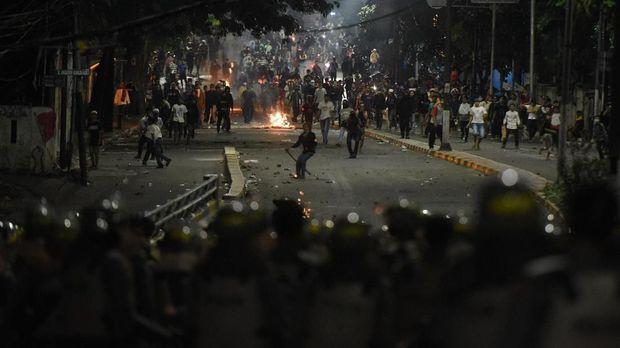 Dua TItik Rusuh di Jakarta 22 Mei Malam