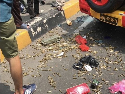 Polri Jelaskan soal Peluru Tajam dalam Mobil Brimob di Slipi