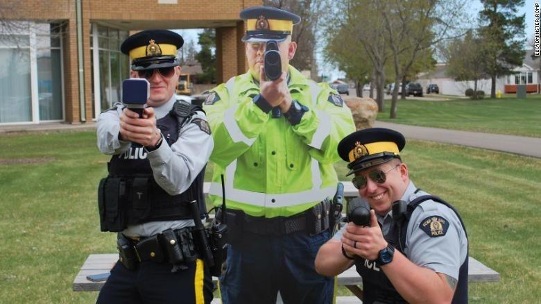 Polisi palsu di Kanada. Foto: CNN