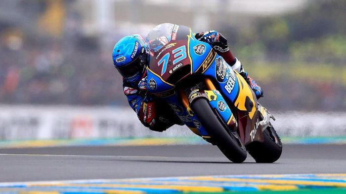 Alex Marquez mungkin naik kelas ke MotoGP tahun depan (REUTERS/Gonzalo Fuentes)