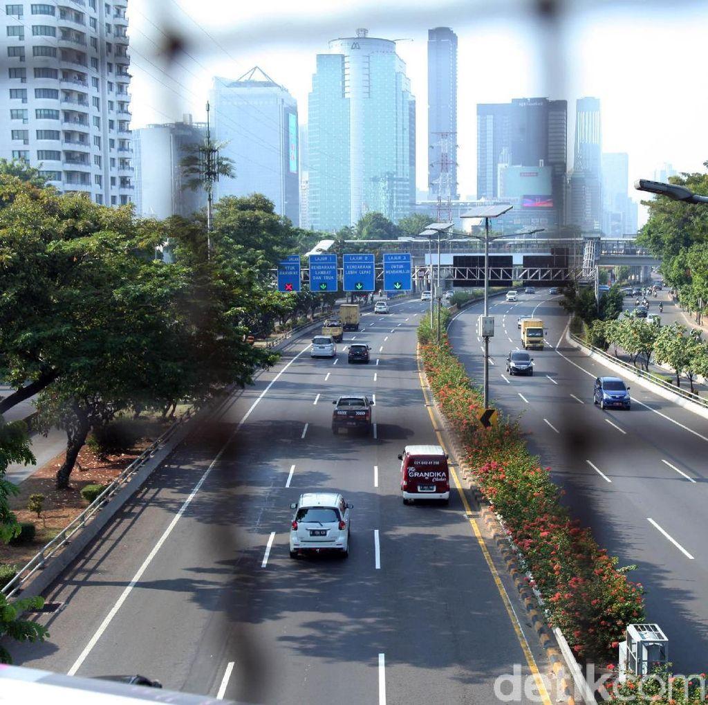 Begini Kondisi Jalanan Ibu Kota Jelang Aksi 22 Mei di Bawaslu