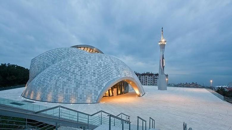 Foto: Masjid Islamic Center Rijeka (Dok.www.archnet.org)