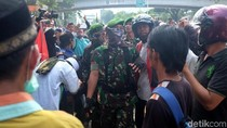 TNI Redam Massa di Tanah Abang