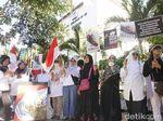 Massa Ratu Adil Aksi Damai di Surabaya, Doakan 6 Korban Tewas di Jakarta