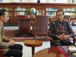 AHY Tiba di Istana Bogor Temui Jokowi
