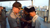 Polisi Cegah Belasan Anak di Stasiun Tigaraksa yang Mau Ikut Aksi di Jakarta