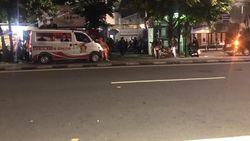 Ambulans Gerindra Bawa Peserta Aksi ke Seknas Prabowo-Sandi di Menteng
