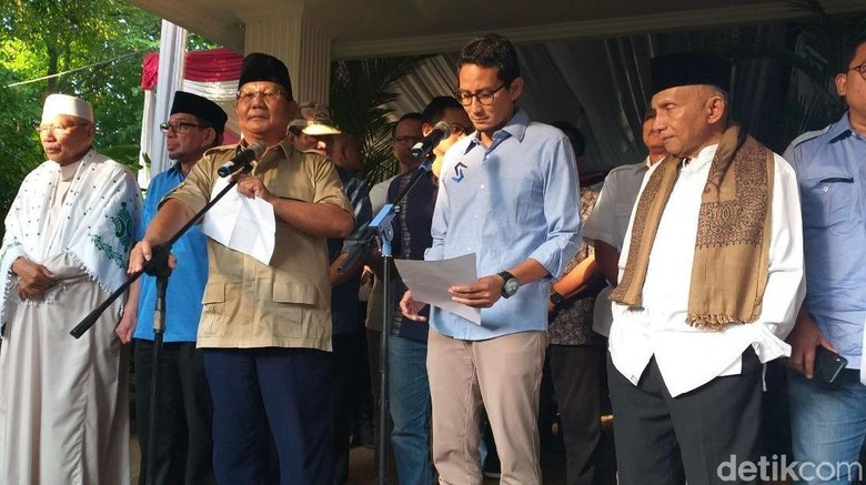 Prabowo: Masyarakat dan TNI-Polri Jangan Lakukan Kekerasan Fisik