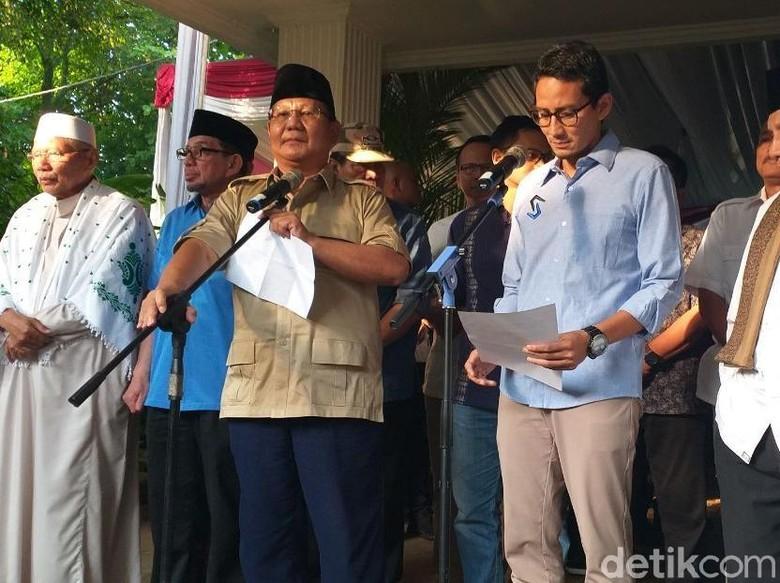 BPN Prabowo Daftarkan Gugatan Hasil Pilpres ke MK Malam Nanti