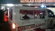 Ambulans PMI hingga Gerindra Antar Korban Rusuh ke RS Tarakan