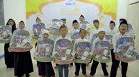 Donasi Rp 4 M 'Patungan untuk Berbagi' Disalurkan Serentak di 8 Kota