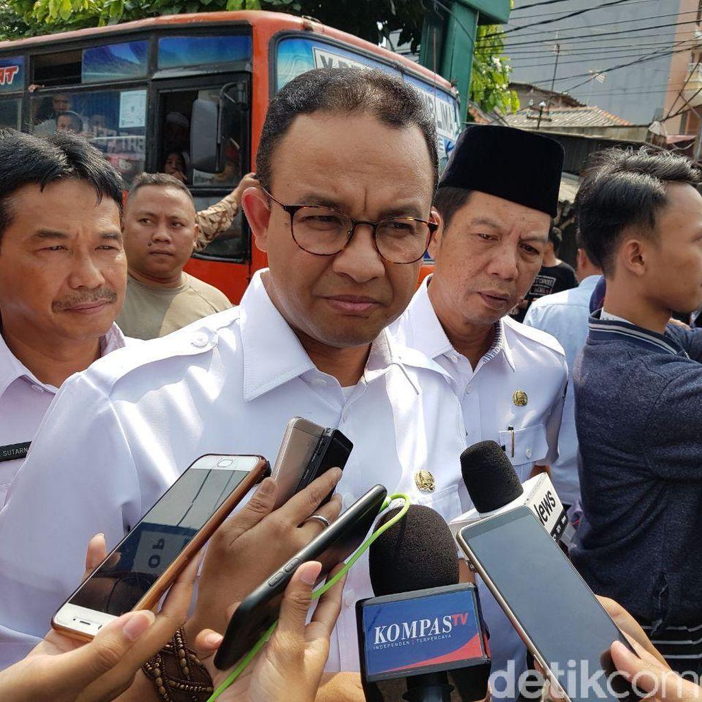 Anies: Jakarta Secara Umum Tertib, Pengamanan Ekstra di Petamburan-Thamrin
