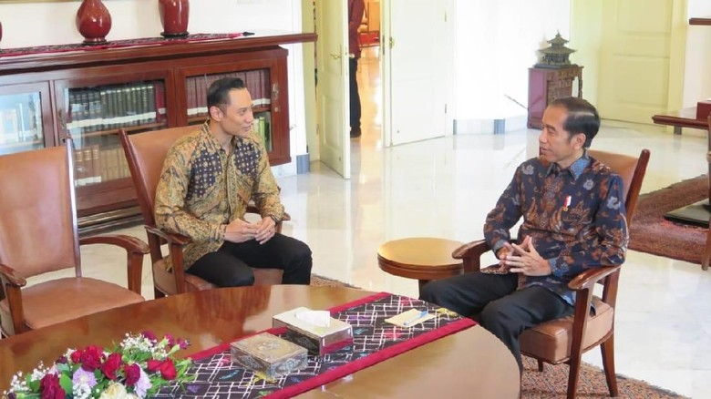 Ke Istana Bogor, AHY Jadi Jembatan Komunikasi Jokowi dan SBY