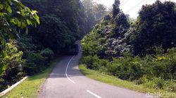 Rawan Kecelakaan, Aroma Horor Menyeruak di Tanjakan Cisarakan Sukabumi