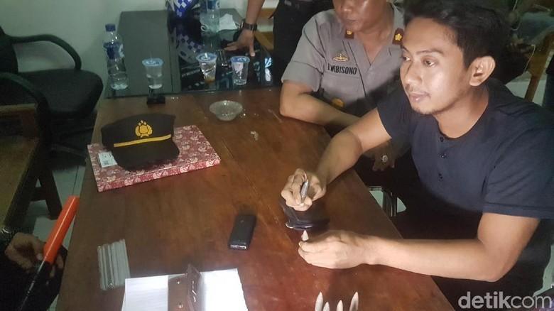 Polisi Amankan Sekarung Proyektil Peluru di Tol Serang Timur
