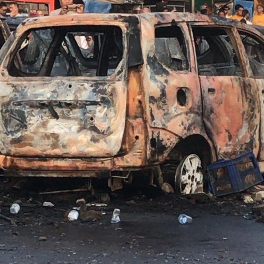 Polisi: 9 Mobil di Depan Asrama Brimob Petamburan Dibakar OTK