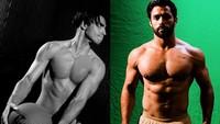 Mena dan Adam memang sama-sama memiliki tubuh atletis yang membuat wanita jatuh hati. Dok. Instagram