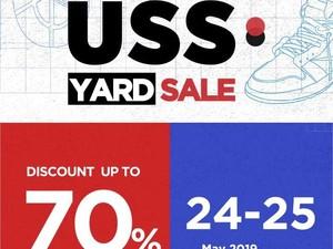 Serbu! Sneakers Diskon Sampai 70% di USS Yard Sale, Senayan City