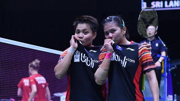 Greysia/Apriyani ke perempat final Thailand Open 2019. (
