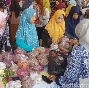 Bazar Murah Digelar di Banten, Bawang Putih Dijual Rp 30.000/Kg
