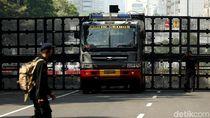 Video Potret Pengamanan Berlapis TNI-Polri di Gedung MK