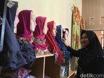 Jelang Lebaran, Perajin Jilbab di Mojokerto Raup Omzet 2 Kali Lipat