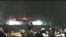 Gedung Bawaslu Sempat Terbakar, Diduga Dilempar Molotov