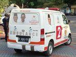 Perjalanan Ambulans Gerindra Tasikmalaya-Bawaslu hingga Ditemukan Bawa Batu