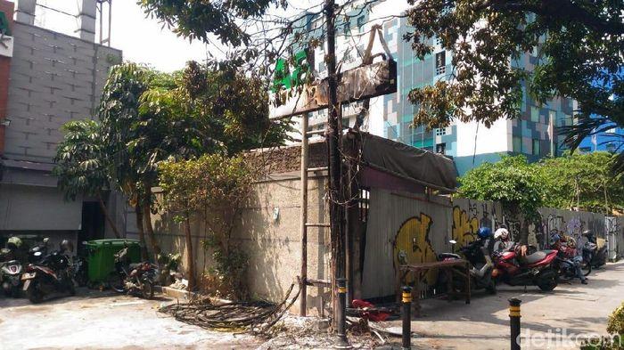 Foto: Restoran di Jalan Sabang Terimbas Aksi 22 Mei (Puti Aini Yasmin/detikFinance)
