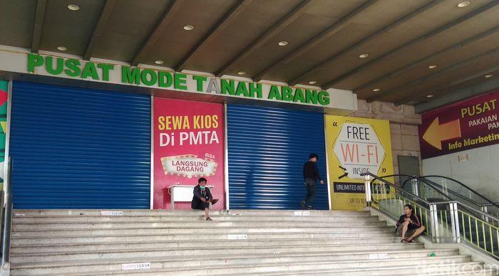 PD Pasar Jaya menjelaskan alasan ditutupnya Pasar Tanah Abang hingga Sabtu 25 Mei.